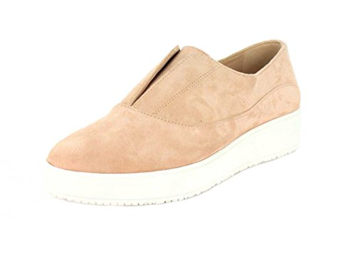 Scholl's Womens Slip Pink Suede Shoes Seashell Blakely On Dr Textured SdAwSq