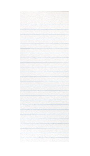 School Smart 85473 Ruled Spelling Slips - 4 x 10 1/2 inches - Ream of 500 by School Smart