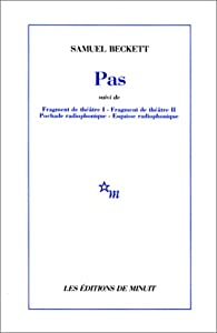 Pas - Quatre esquisses par Beckett