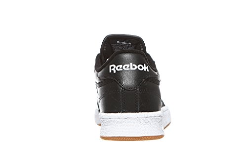 Reebok Uomo Club C nero Sneaker 85 7rz7Za