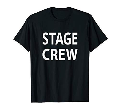 (Stage Crew T Shirt Theatre Concert Worker )