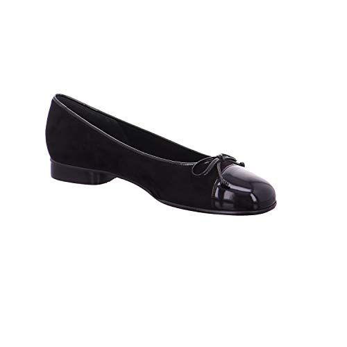 38 Basic Gabor Shoes Nero Donna Eu 77 schwarz Ballerine Z51w065x