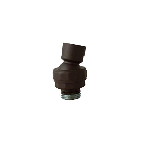 Oil Rubbed Bronze Swivel (Opella 205.995.257 Shower Head Swivel Ball Adapter Oil Rubbed Bronze)