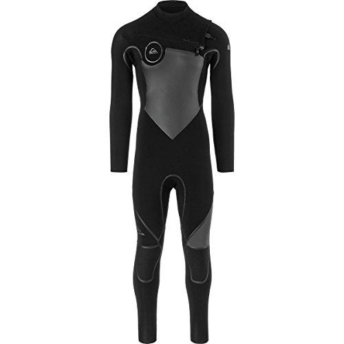 Quiksilver 3/2mm Syncro Plus Chest Zip Men's Wetsuits - Black/Black/Jet Black/Large