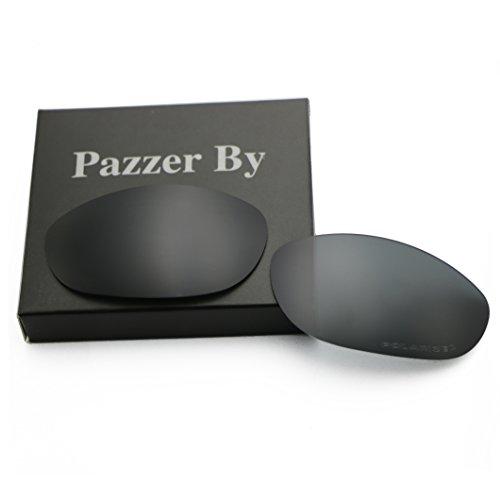 Polarized Replacement Lenses for Oakley Monster Dog - Black (Dog Polarized Monster)