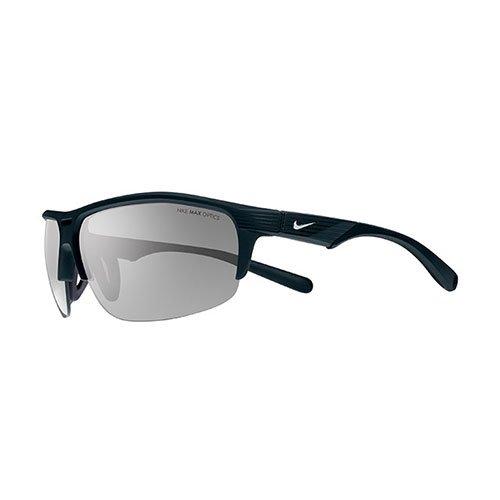 Nike Grey with Silver Flash Lens Run X2 Sunglasses, Matte - Sunglasses Origami