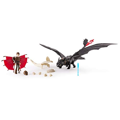 Dragons: Race to The Edge - Toothless & Hiccup Armored Dragon -