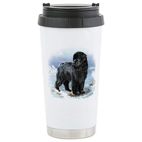 - CafePress Stainless Steel Travel Mug Stainless Steel Travel Mug, Insulated 16 oz. Coffee Tumbler
