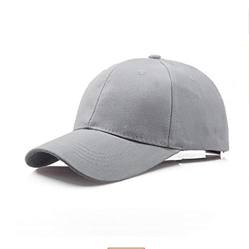 Cap Outdoor Ball - YEZIJINHat Cotton Light Board Solid Color Baseball Cap Men Cap Outdoor Sun Hat