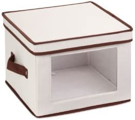 Honey Can Do SFT 02062 Natural Canvas Storage