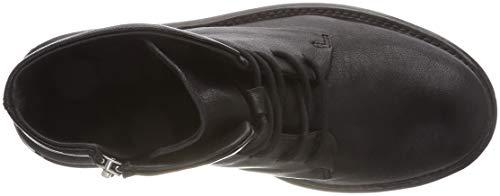 Amsterdam Shs0286 Femme Bottines 0001 Noir Black Shabbies Oadqvwq