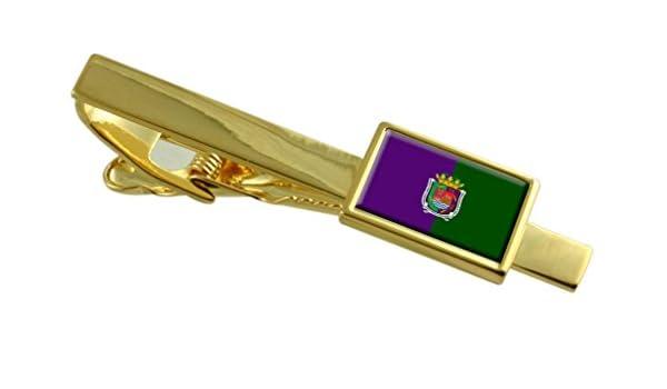 Select Gifts Málaga Ciudad Bandera España Clip de Corbata de Oro ...