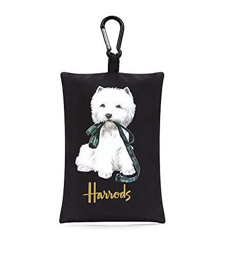 Harrods - Bolso de asas de poliéster para mujer Negro Negro ...
