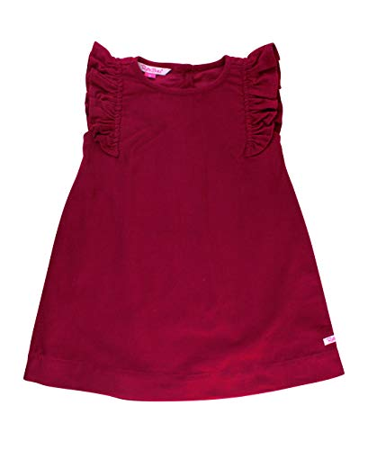 RuffleButts Baby/Toddler Girls Mulberry Corduroy Jumper Dress - -