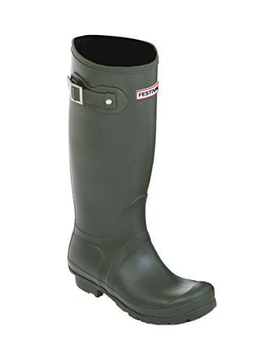 Festival Women's Green Wellington Boots qkZjm
