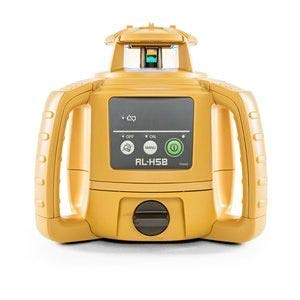 Topcon RL-H5B Self Leveling Horizontal Rotary Laser with Bonus EDEN Field Book| IP66 Rating Drop, Dust, Water Resistant| 400m Construction Laser| Includes LS-80L Receiver, Detector Holder, Soft Case (Best Laser Level For Grading)