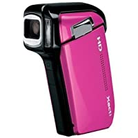 Sanyo Xacti VPC-HD800 5x Optical Zoom High Definition Digital Media Camcorder (Pink) (International Model)