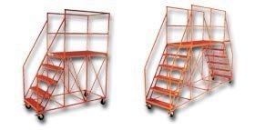Platform Height: 50 Hse5-5 Lbs. No Overall Length: 84 Platform Size L X W: 60 X 28 Option A: Safety Orange Finish Wt. Se5-5 Of Steps: 5 : 237 Single Entry Ballymore//Garlin Enterprises