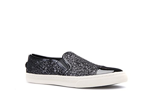 Geox D5258G 0HHDS Slip-on Women Black ZFX5QvPo4