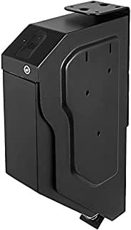 VEVOR Handgun Safe Box Fingerprint Pistol Gun Safes Gun Storage Case Handgun Holder Quick Access Security Lock