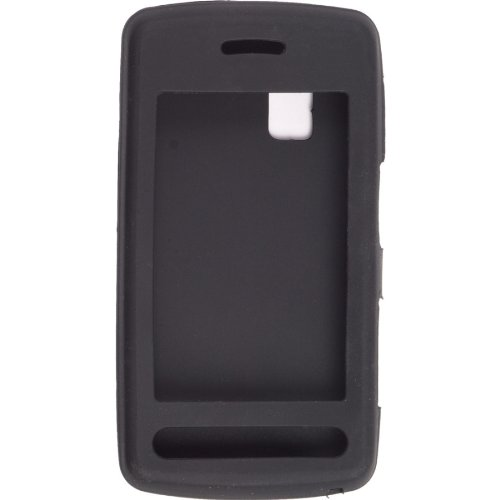 Wireless Solutions Gel Case for LG  CU915, CU920 (Black)