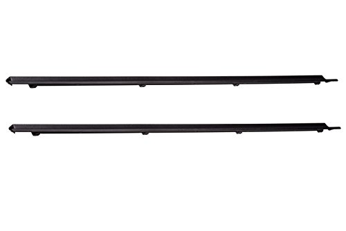 1992-2011 Ford Ranger Front Right & Left Side Door Sill Black Scuff Plates OEM
