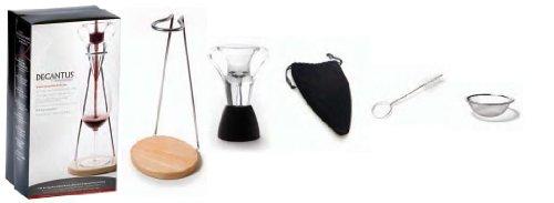 Franmara Decantus Connoisseur Wine Aerator Set, 6-Piece Set