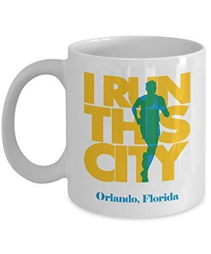 I Run Orlando City, Florida Muq 11OZ Coffee Mug