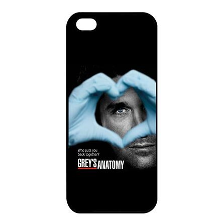 Custom Hipster Greys Anatomy Case For Iphone 5C