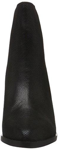 Donna Nero Con Leggera 01 Imbottitura Buffalo Bassi Stivali black 4 Fabric 15b66 wWzTR18
