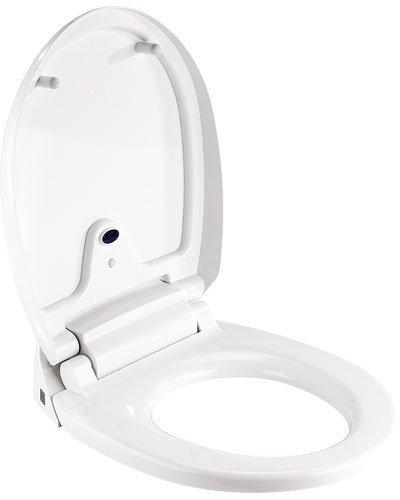 der Infactory WC Sitz mit absenkautomatik hat Zwei Sensoren die das Automatische öffnen und schlissen erzeugen.