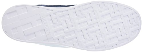 403 Uomo Knit da Lightweight Blu Hilfiger Sneaker Tommy Scarpe Basse Ginnastica Midnight PRqg6HAn