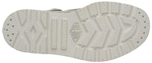 Palladium Pallab Mid Lp K - Zapatillas de deporte Unisex Niños Gris - Gris (D24 Silver Cloud/Creampuff)