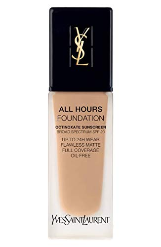 (YVES SAINT LAURENT All Hours Full Coverage Matte Foundation SPF 20 25ml # BD35 Warm Caramel)