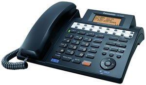 Panasonic 4-Line Speakerphone w/ Caller ID – Black (Corded Telephones / Feature Telephones), Office Central