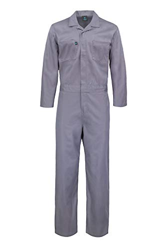 Kolossus Deluxe Long Sleeve Cotton Blend Coverall with Multi Pockets and Antistatic...