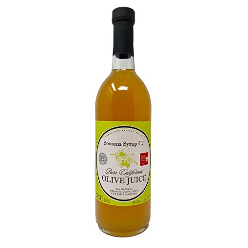 Pure Sonoma Olive Juice