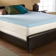 3 Inch Cal-King Size Accu-Gel Infused Visco Elastic Memory Foam Mattress Topper Made in the USA by Accutex Foam - Usa In Mall Shopping Online