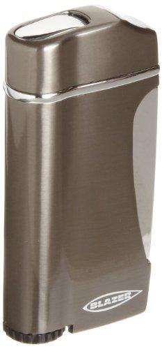 Blazer Stratus Butane Refillable  Torch Lighter, Gun Metal ()