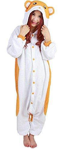 Lava-ring Hamtaro Unisex Animal Homewear Jumpsuit Cosplay Costume Christmas Gift