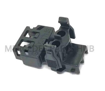 Mercedes Pin Bushing Housing electrical Connector plug (2-pin) w124 w126 r129 GENUINE MERCEDES 011-545-71-28