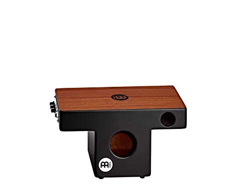 Meinl Pickup Slaptop Cajon Box Drum with Internal Snares and Forward Projecting Sound Ports - NOT MADE IN CHINA - Mahogany Playing Surface, 2-YEAR WARRANTY (PTOPCAJ4MH-M)