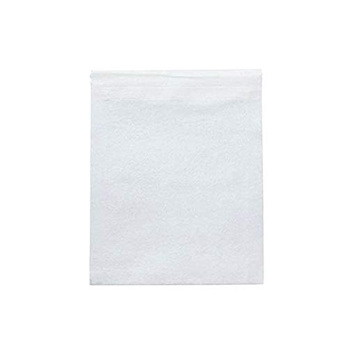 (Pack of 100 Non-Woven Disposable Tea Infused Filter Heat Sealable Bags for Loose Tea, Herb and much more! (6x8cm (2.4x3.1