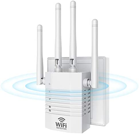 WiFi Range Extender for The Houes, TremendousBooster Booster Repeater 1200Mbps (2500FT) WiFi 2.4 & 5GHz Dual Band WPS Wireless Signal Strong Penetrability, Wide Range of Signals, Enjoy Gaming Movies