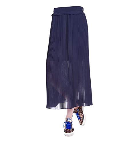 Polyester Jupe Golden G33WP015A1 Goose Femme Bleu nUwawY8q
