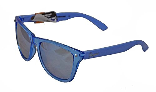 (Peppers Polarized Sunglasses Spitfire Crystal Light Blue w/Polarized Blue Mirror)