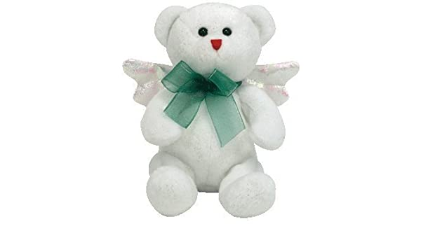 Amazon.com  TY Beanie Baby - HARK the Angel Bear (White Version) by Ty   Toys   Games e400745cd258