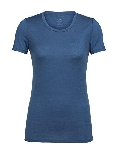 shirt Prusse Ss Low T Icebreaker Tech Lite Crewe Bleu Femme T De ZPnn0Cax