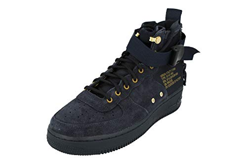 uk availability c20a3 a0639 Nike SF AF1 Air Force MID Big Kids Shoes Obsidian Blue Black aj0424-400  (6.5 M US)