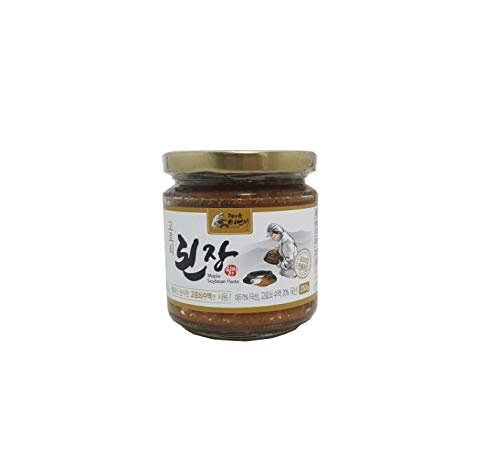 - Korean Traditional Organic Fermented Miso Soybean Paste 8.81oz / 250g No Preservative K-foods [된장]